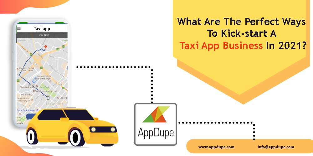 Taxi booking software