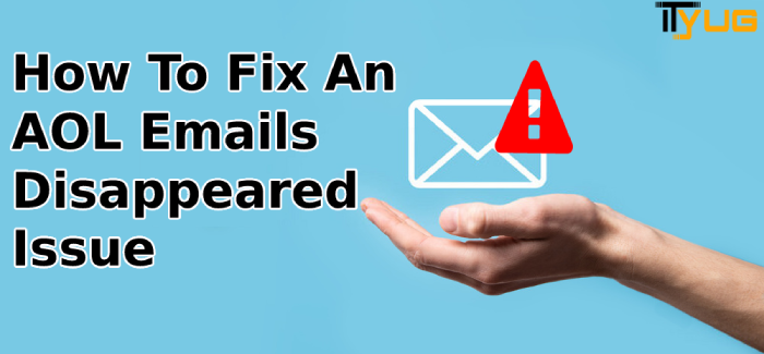 AOL Emails Disappeared