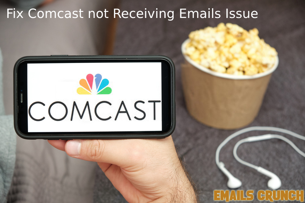 Comcast email not receiving